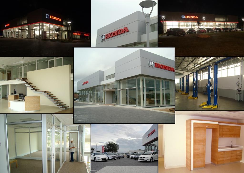 Honda Collage